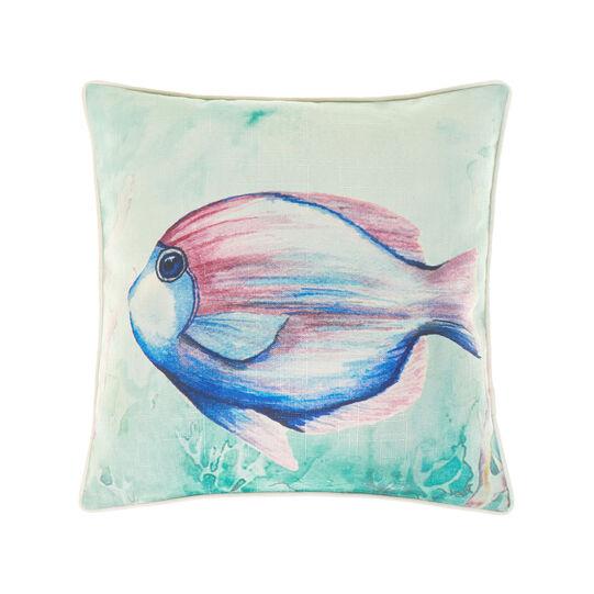 Cuscino stampa pesce