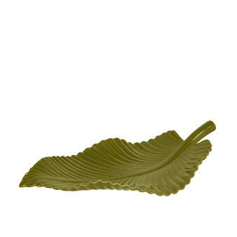 Foglia ceramica lucida