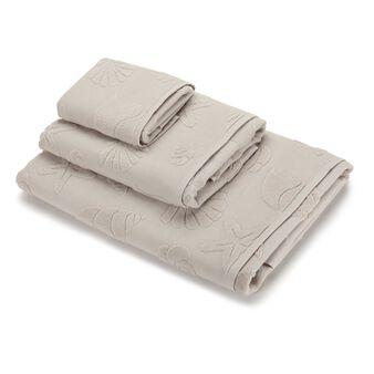 Asciugamano puro cotone lavorazione marina e spugna