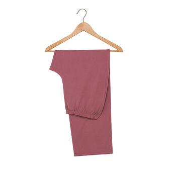Pantaloni in jersey di puro cotone