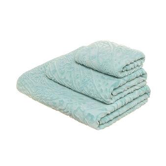 Asciugamano in puro cotone stonewashed