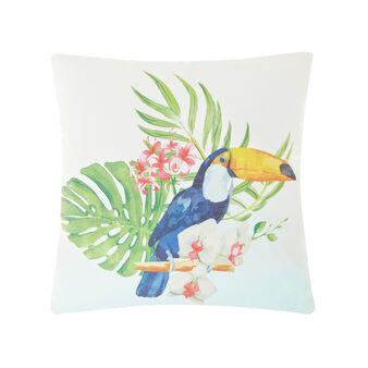 Cuscino stampa tucano