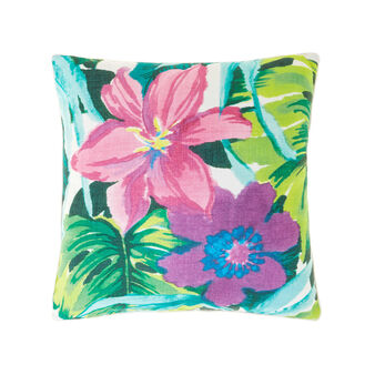 Cuscino stampa digitale macro fiori