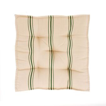 Cuscino mattress puro cotone tinto filo
