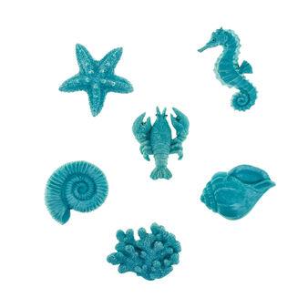 Magnete decorazione marina X 6