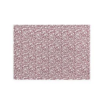 Set 2 tovagliette in cotone stampa foglie