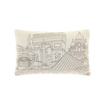 Cuscino rettangolare in cotone
