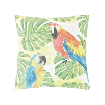 Cuscino stampa pappagalli
