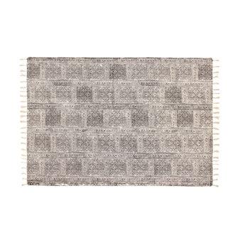 Tappeto puro cotone stampato a mano