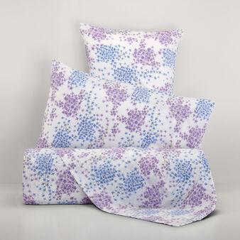 Parure letto puro cotone percalle floreale