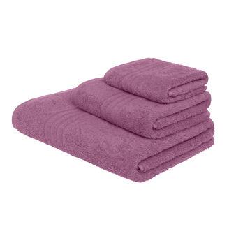 Asciugamano spugna cotone tinta unita