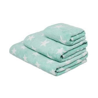 Asciugamano in spugna zero twist con stelline