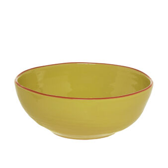 Insalatiera ceramica portoghese profilata