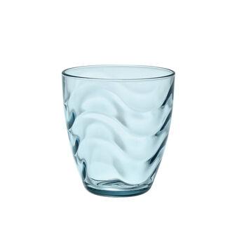 Bicchiere acqua in vetro colorato