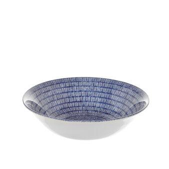 Insalatiera in ceramica decorata Dashie