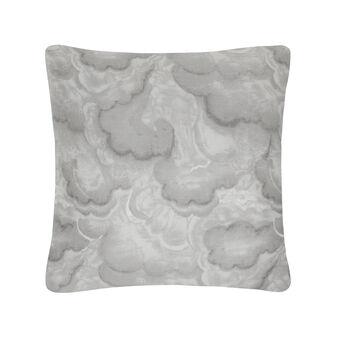Cuscino quadrato in satin di cotone