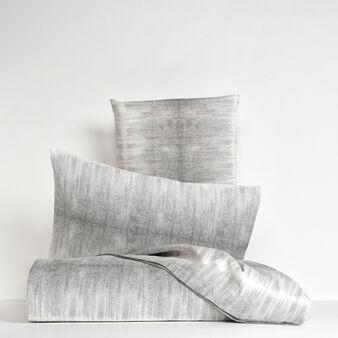 Lenzuolo liscio in lino stampato