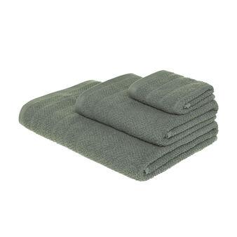 Set 5 asciugamani spugna di cotone