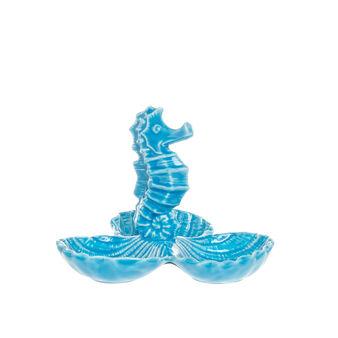 Antipastiera cavalluccio marino porcellana