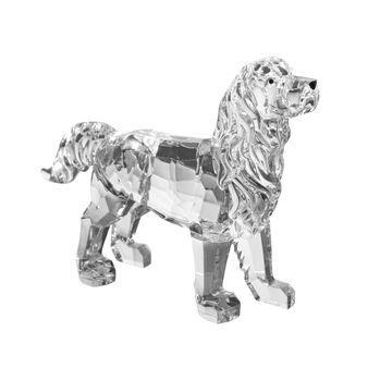 Cane decorativo trasparente H 10cm