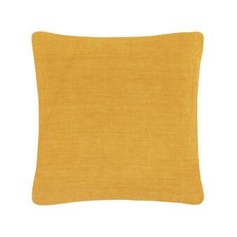 Cuscino lino lavato