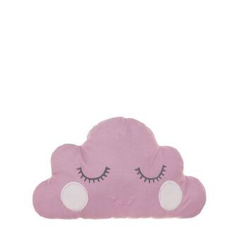Cuscino a nuvoletta in micropile rosa