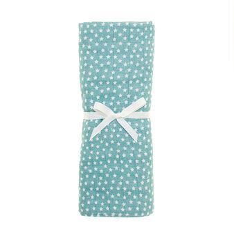 Asciugamano in cotone garzato fantasia stelline