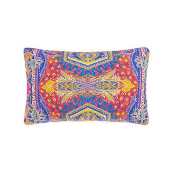 Cuscino rettangolare cotone percalle stampa foulard