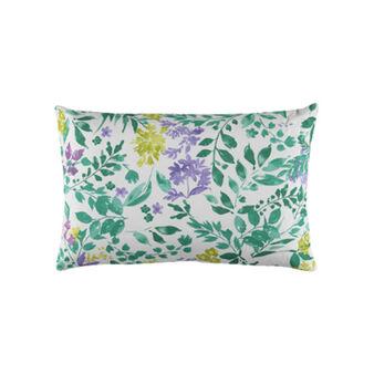 Cuscino puro cotone stampa botanica