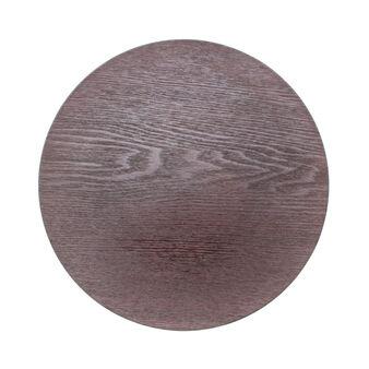 Sottopiatto effetto legno