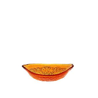 Coppetta arancia vetro