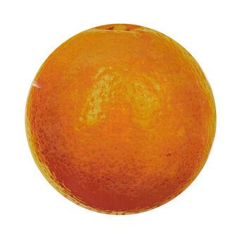 Piatto vetro arancia