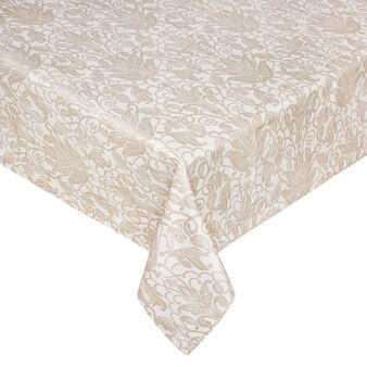Tovaglia in cotone stampa damascata