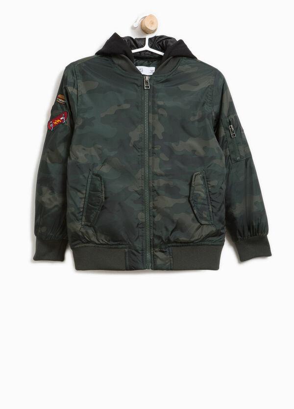 Camouflage patterned bomber jacket   OVS