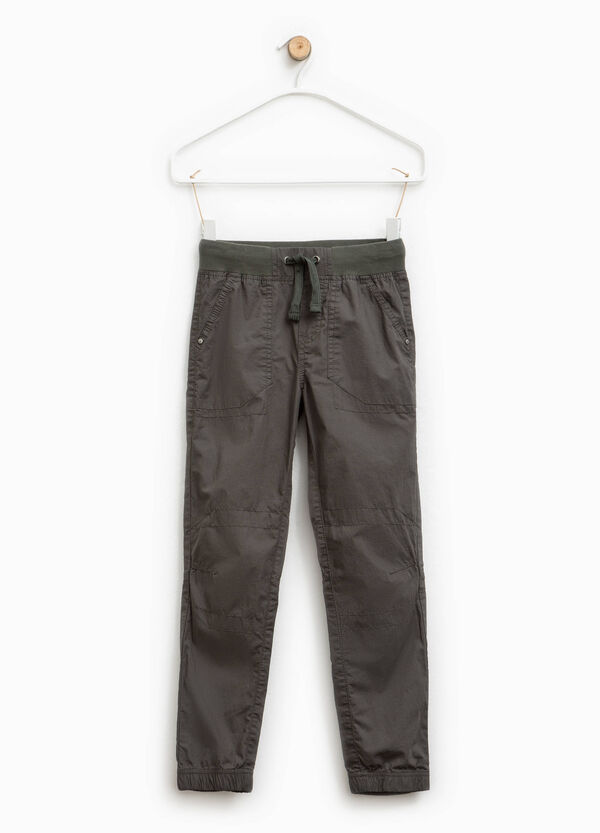 Pantaloni con caviglie elasticate | OVS