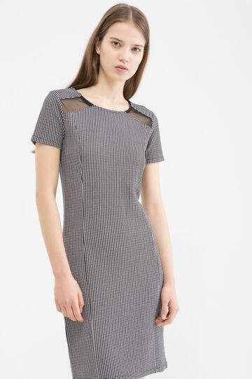 Stretch patterned dress