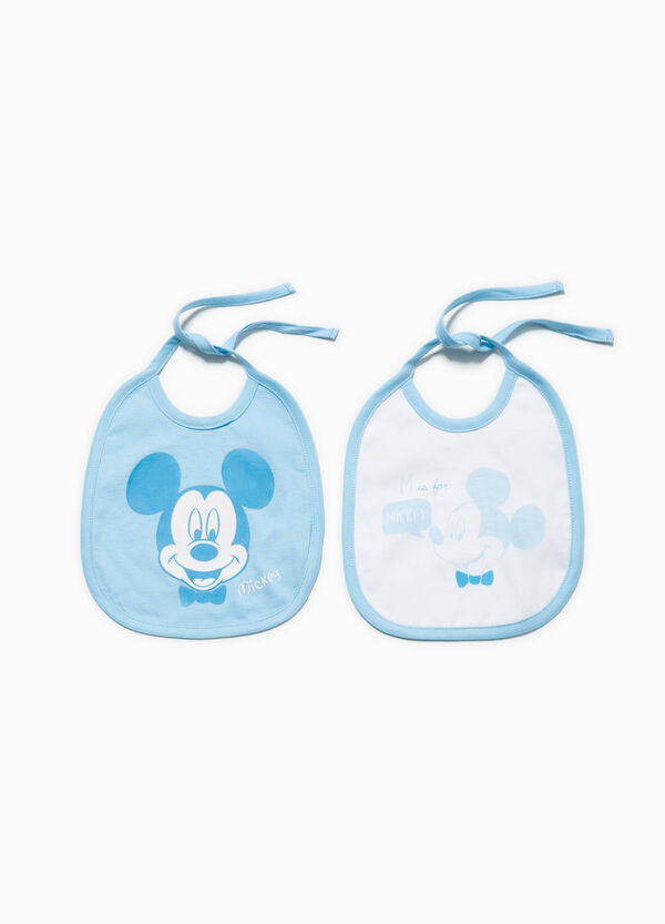 Two-pack Mickey Mouse bibs | OVS