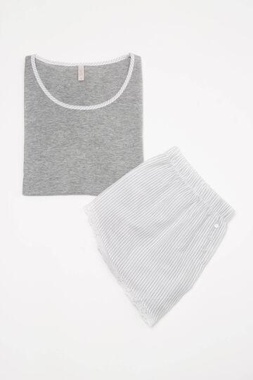 Striped pyjamas in 100% cotton