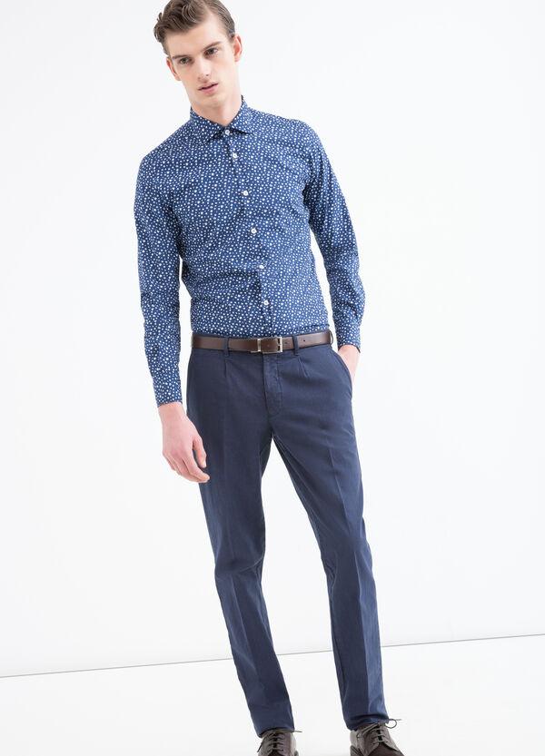 Camicia cotone floreale Rumford | OVS