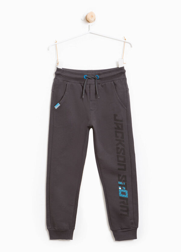 Pantaloni tuta stampa lettering | OVS