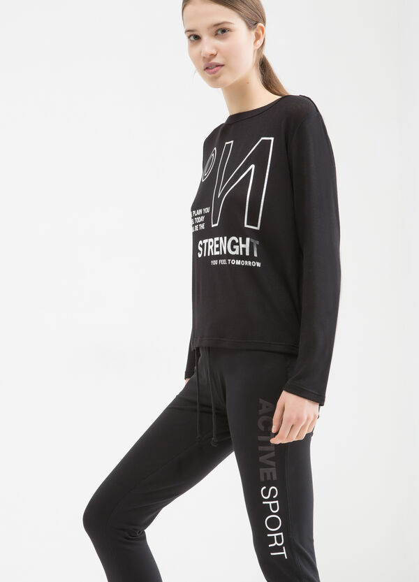 T-shirt sportiva viscosa stretch | OVS