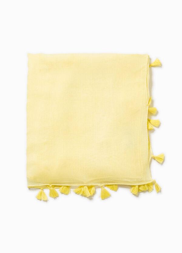 Sciarpa con nappine | OVS