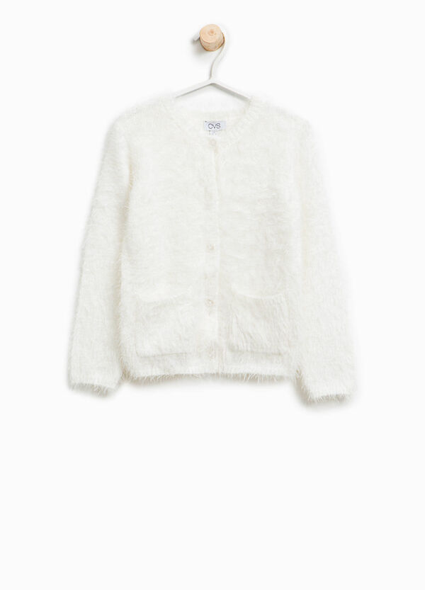 Knitted frayed cardigan   OVS