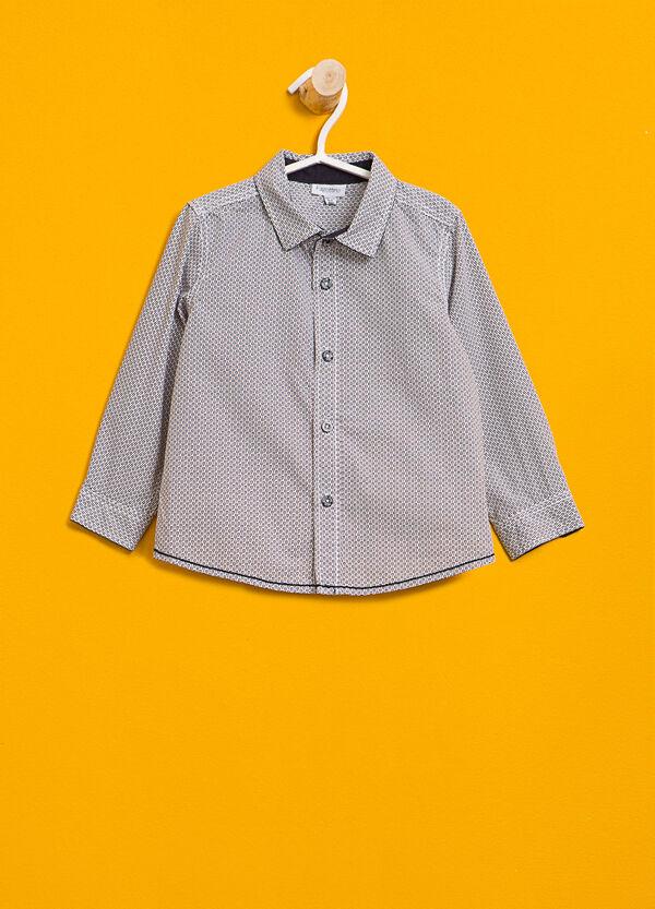 100% cotton printed shirt | OVS