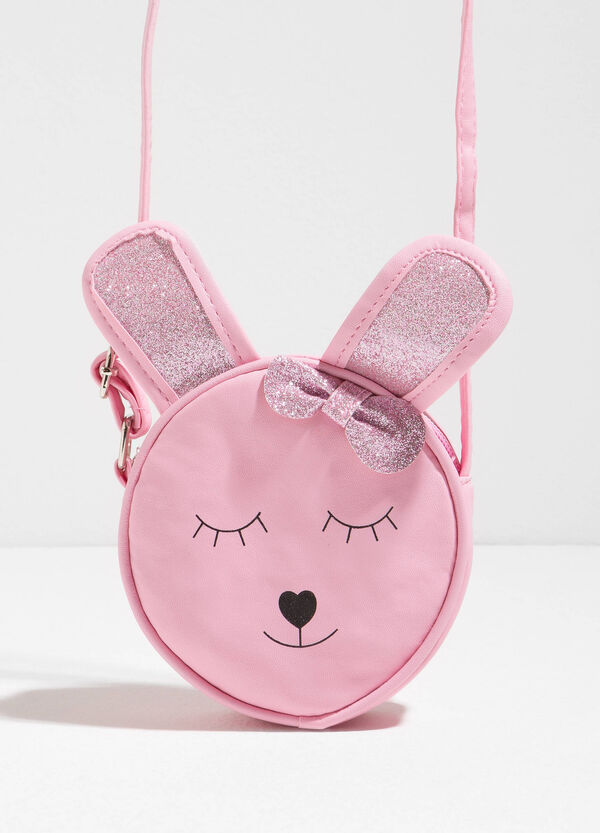 Shoulder bag with rabbit print | OVS