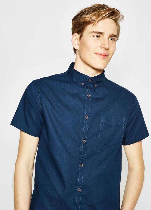 Camicia casual in dobby di cotone G&H | OVS