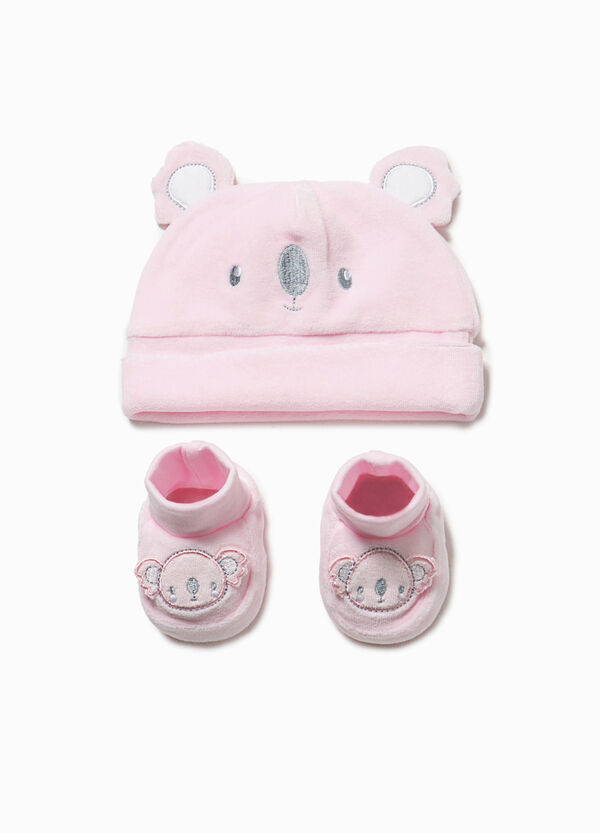 Ears hat and shoes set | OVS