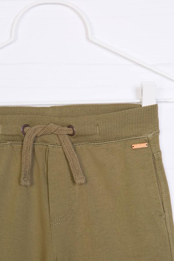Shorts puro cotone tinta unita   OVS