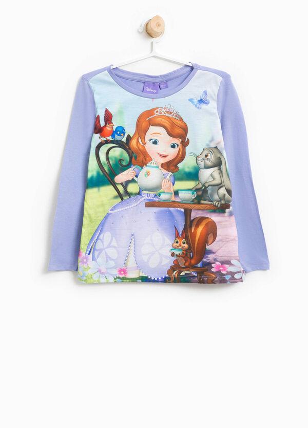 T-shirt maxi stampa Principessa Sofia | OVS