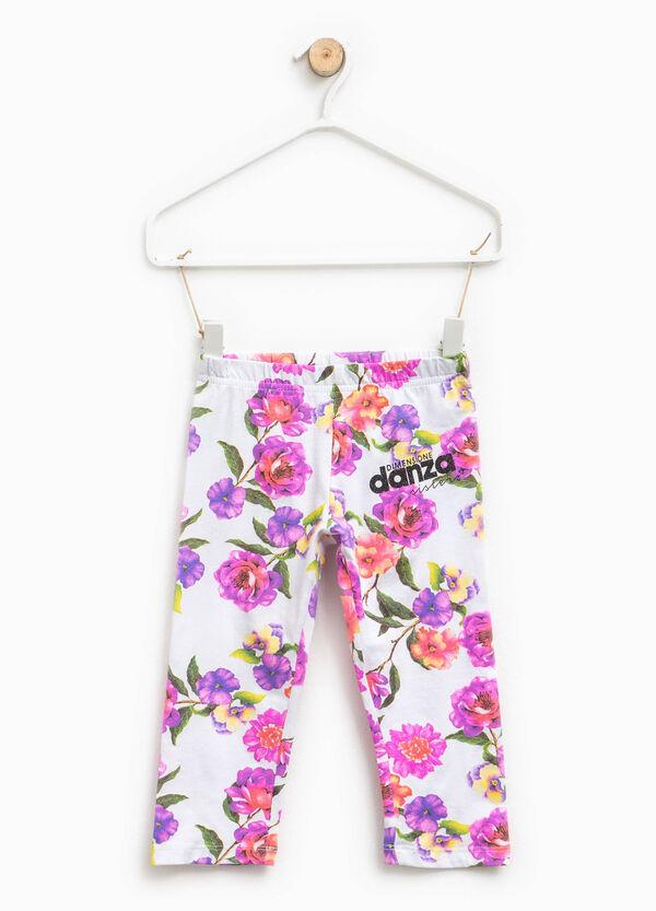 Dimensione Danza floral leggings | OVS